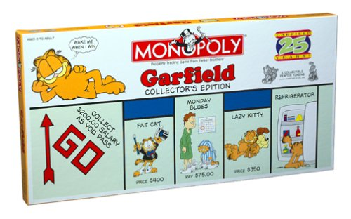 Garfield Monopoly - when bad things happen to bad games